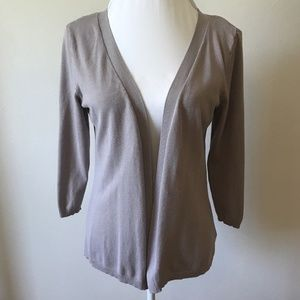 Maurices Sweaters - XL Maurices Taupe Open Front Cardigan Sweater